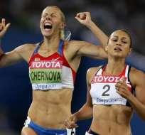 La rusa (i.) fue campeona mundial en 2011 y medalla de bronce olímpica en 2012. Foto: Tomada de mirror.co.uk