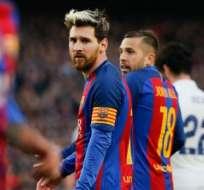 El argentino ha sido varias veces capitán del FC Barcelona. Foto: AFP