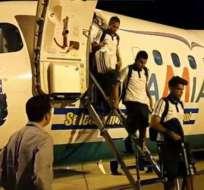 El avión de Lamia que trasladó a Argentina fue el mismo que se accidentó en Colombia.