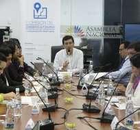 QUITO, Ecuador.- Miembros del Consejo de Administración Legislativa designaron a la Comisión de Gobiernos Autónomos para tramitar la Ley de Plusvalía. Foto: Archivo