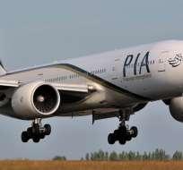 PAKISTÁN.- Según información preliminar, la aeronave desapareció mientras volaba hacia Islamabad. Foto referencial