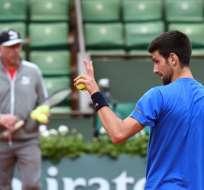 Novak Djokovic (d.) perdió el número 1 del mundo a manos de Andy Murray. Foto: AFP
