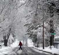 Después de la lluvia y la nieve habrá temperaturas muy inferiores al promedio. Foto: referencial