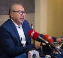 ECUADOR.- Orlando Pérez responde a acusaciones en su contra de un presunto maltrato a una estudiante univeresitaria que dice ser su pareja. Foto: API