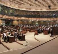 Está considerado un fideicomiso para obligaciones económicas pendientes de universidades cerradas. Foto: Asamblea Nacional