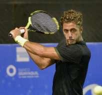 El tenista ecuatoriano comenzó el año sin ranking oficial. Foto: Cortesía KC Tenis