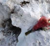 Autoridades investigan si el camión quitanieve enterró al niño junto a un amigo mientras jugaban. Foto: timesunion.com