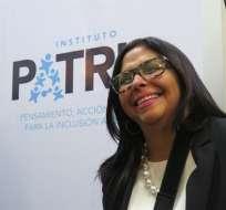 La canciller venezolana planea asistir a una reunión de coordinadores en Montevideo. Foto: EFE