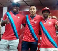 Los jóvenes jugadores defenderán al 'Rojo' la próxima temporada. Foto: Tomada de http://www.elnacional.ec