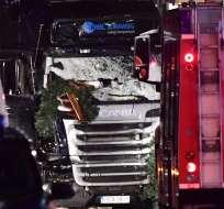 En la tragedia murieron 9 personas y quedaron más de 50 heridos. Foto: AFP