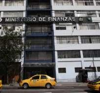 ECUADOR.- La Tesorería de la Nación del Ministerio de Finanzas es la encargada de transferir todas las remuneraciones de las instituciones públicas. Foto: Archivo