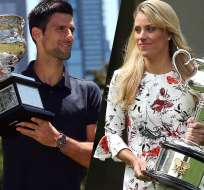Novak Djokovic y Angelique Kerber son los vigentes campeones del primer Grand Slam de la temporada.