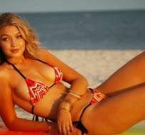 La top model muestra nuevamente su lado más sensual. Foto: Archivo / Internet