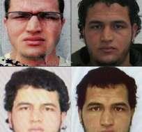 La policía alemana emitió una alerta para encontra al sospechoso tunecino del ataque en Berlín. Foto: AFP