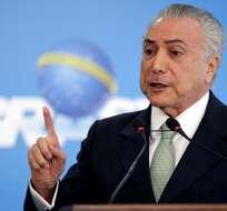 BRASIL.- El nombre de Michel Temer aparece en el escándalo de corrupción de Petrobras. Foto: Archivo
