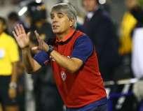 Marcelo Grioni aseguró que le pedirá ayuda a Gustavo Quinteros, técnico de la selección ecuatoriana. Foto: Tomada de Depor.com