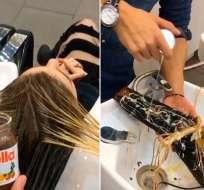 La técnica capilar que se usó en una peluquería está generando gran repercusión. Foto: capricho.abril.com.br