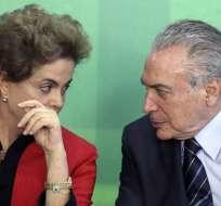 BRASIL.- Los indicios de irregularidades en las cuentas podrían costarle el puesto a Temer. Foto: Internet
