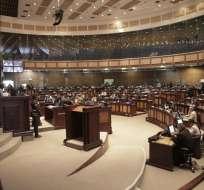 En el Pleno también se registraron 27 votos negativos y una abstención. Foto: Asamblea Nacional