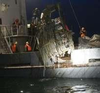 Hasta el momento se han recuperado 13 cadáveres y cerca de 160 fragmentos de cuerpos. Foto: EFE