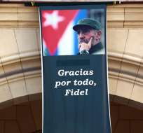 LA HABANA, Cuba.- Se aprobó ley que prohíbe usar el nombre de Fidel Castro en espacios públicos. Foto: EFE.