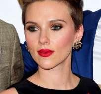 Johansson ha interpretado el papel de la Viuda Negra en el universo Marvel en el cine.
