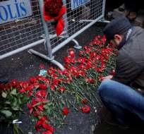ESTAMBUL, Turquía.- La mayoría de las victimas provenían de países árabes. Foto: EFE.