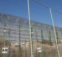 CEUTA, España.- Un grupo de unas 1.100 personas procedentes de África subsahariana intentaron entrar en Ceuta, puerta de entrada a Europa en el continente africano. Foto: ACNUR España.