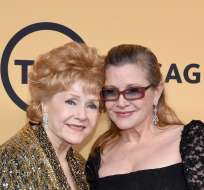 LOS ÁNGELES, EE.UU.- Debbie Reynolds falleció un día después que su hija, Carrie Fisher. Su hijo señaló que el estrés de perder a Carrie fue demasiado para su madre.