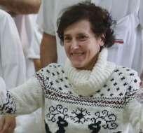 Teresa Romero fue el primer caso de ébola adquirido fuera de África. Foto: Archivo