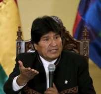 """Morales agregó que la cadena perpetua """"requiere modificaciones a la Constitución. Foto: Archivo"""