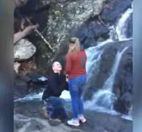 El hecho ocurrió en el parque Cunningham Falls de Maryland, Estados Unidos.