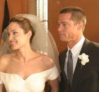El artista ha acusado a Jolie de revelar asuntos sensibles sobre su acuerdo de divorcio.