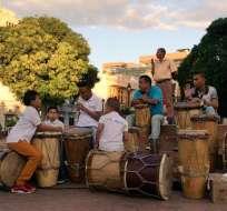 SANTA MARTA, Colombia.- Agrupaciones provenientes de Brasil, Estados Unidos y Cuba participan en el festival colombiano. Foto: Alcaldía Santa Marta.