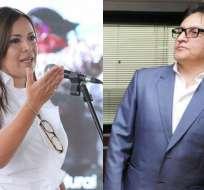 ECUADOR.- El Ministerio de Justicia rechazó postura del organismo internacional frente al proceso contra Villavicencio. Collage: Ecuavisa