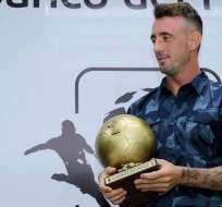 El volante argentino fue elegido como el mejor jugador del campeonato nacional 2016. Foto: API