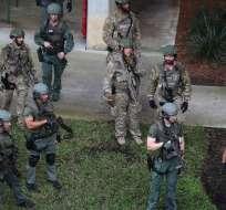Agente especial de FBI dijo que aún no se puede determinar si se trató de acto terrorista. Foto: AFP