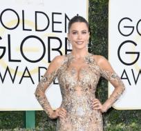 Sofía Vergara fue la encargada de presentar un galardón en el Globo de Oro. Foto:Agencias