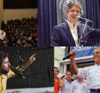 Los aspirantes consideran que la renegociación de estas nuevas deudas de Ecuador será prioritario.