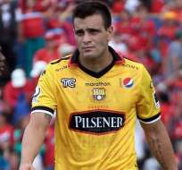 El argentino Federico Laurito volverá a jugar en Ecuador, lo hará en Gualaceo.