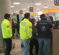 ECUADOR.- El viceministro del Interior, Diego Fuentes, anunció en su cuenta de Twitter que la ciudadana pretendió ingresar a Chile y luego Colombia. Foto: Twitter Diego Fuentes
