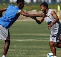 Junior Sornoza destaca en la pretemporada con su nuevo equipo, el Fluminense.