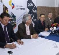 ECUADOR.- El ministerio de Finanzas firmó convenio por $786 millones con gobiernos seccionales. Foto: API