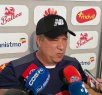 Hernán Darío Gómez volvió a tener problemas con la prensa panameña por el funcionamiento de la selección.