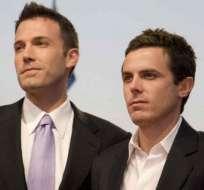 Casey Affleck (derecha) tiene 41 años y es 3 años menor que Ben. Foto: Agencias