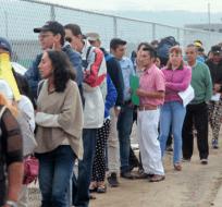 QUITO, Ecuador.-El INEC reveló que el desempleo en diciembre de 2015 estuvo en 4,8 % y pasó al 5,2%,  en diciembre de 2016. Foto: Ecuador Noticias.