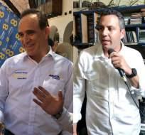 Los aspirantes de Avanza y la alianza CREO-SUMA realizan entrevistas y recorridos. Foto: Collage