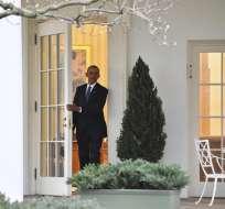"""EE.UU.- En la misiva expresó su gratitud al pueblo estadounidense """"por convertirlo en mejor hombre"""". Foto: EFE"""