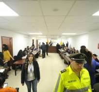 QUITO, Ecuador.- La Fiscalía General del Estado ratificó la acusación contra 18 procesados por delito de cohecho. Foto: API