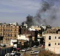 YEMEN.- Entre los fallecidos hay cerca de 70 rebeldes hutíes y unos 30 soldados del Ejército. Foto: EFE
